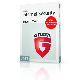 G DATA Internet Security for 1 PC with Anti-Phishing for 1 Year