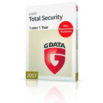 G-Data Total Protection for 1 PC with Anti-Phishing for 1 Year