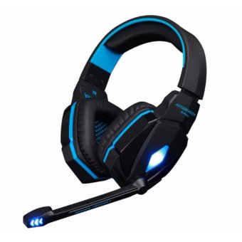 G4000 Stereo Gaming Headphone Headset Headband with Mic VolumeControl for PC Game - intl