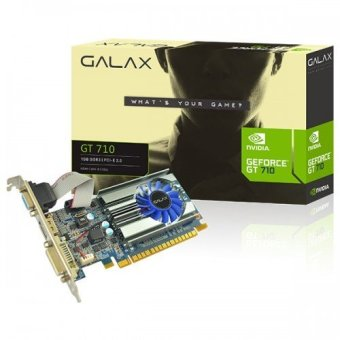 Galax GT710 1GB DDR3 64Bit Graphic Card