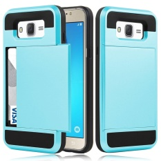 ... Shockproof Soft Rubber Bumper Protective Hybrid Card Case Cover for Samsung Galaxy Note 4 - intlPHP425. PHP 435