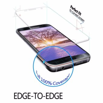 Galaxy S7 Edge Screen Protector, LucaSng [3-Pack][HD Ultra Clear Film] [Full Coverage] PET Screen Protectors - intl - 3