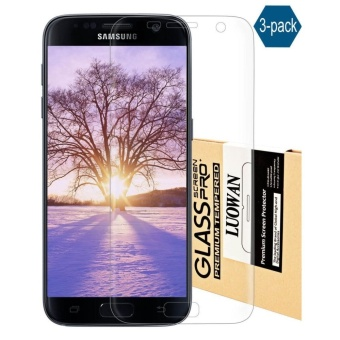 Galaxy S7 Screen Protector, LUOWAN [3-Pack][HD Ultra Clear Film] [Full Coverage] PET Screen Protectors