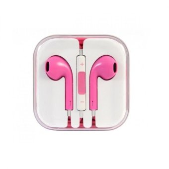 Generic In-Ear Headset for Smartphones (Pink)