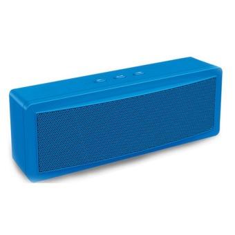 Genesis B-21 Mini Portable Bluetooth Speaker (Blue)