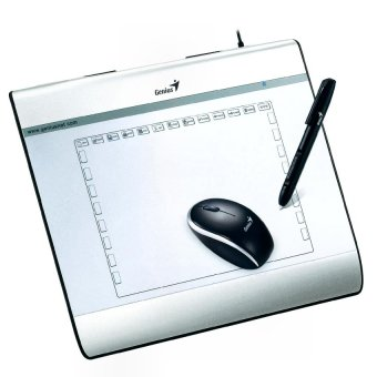 "Genius Easy Pen i608 6""x8"" Graphic Tablet with Pen and Mouse Price Philippines"