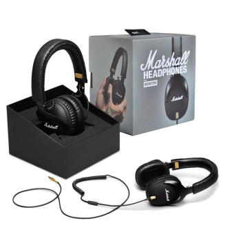 Genuine Monitor Major Headphones With Mic Deep Bass DJ HiFi Headset(Black) - intl Price Philippines