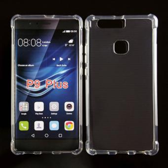 German Import Drop Resistant Silicone Clear Case for Huawei P9 Plus (Clear)