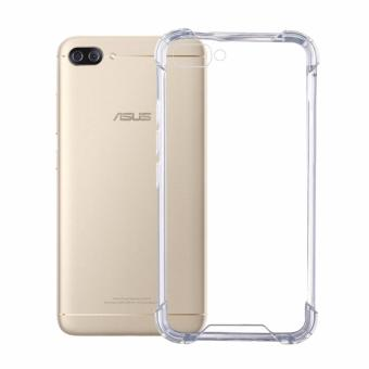 German Import Shockproof Silicone Clear Case For ASUS Zenfone 4 MaxZC554KL (Clear)