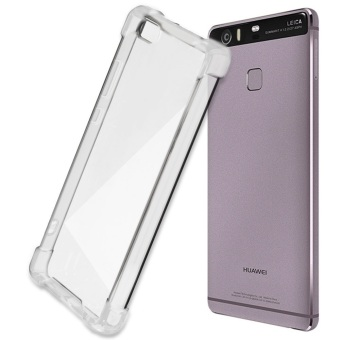 German Import Shockproof Silicone Clear Case for Huawei P8 Lite(Clear)
