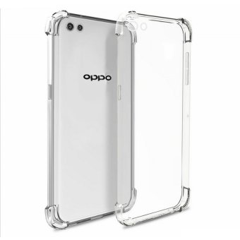 German Import Shockproof Silicone Clear Case for Oppo A33 (Clear)