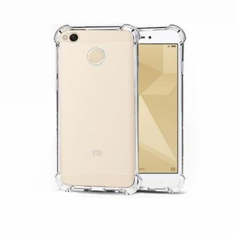 German Import Shockproof Silicone Clear Case For Redmi 4X (Clear)