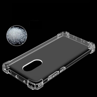 German Import Shockproof Silicone Clear Case For Xiaomi Redmi Note4X (Clear) - 5