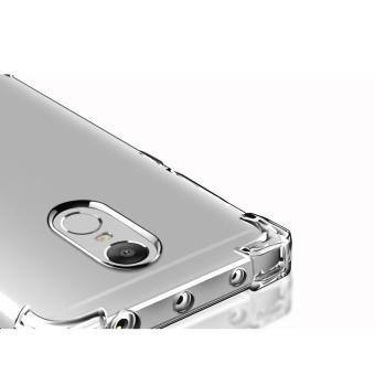 German Import Shockproof Silicone Clear Case For Xiaomi Redmi Note4X (Clear) - 3