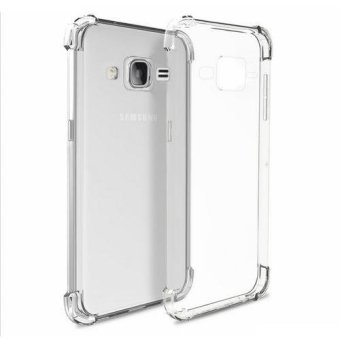 German Import Silicone Shockproof Case for Samsung Galaxy On 7 (Clear)
