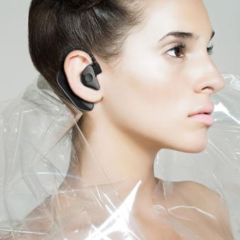 GETEK Wireless Bluetooth 4.1 Stereo Handsfree Headphone Headset foriPhone Samsung LG (Black) - 2