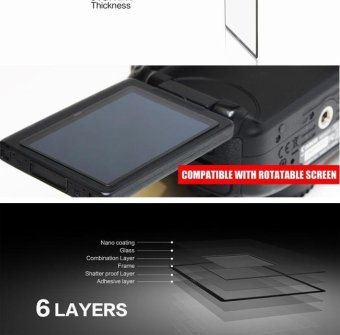 GGS IV 0.3mm LARMOR Screen LCD Protector GGS4 for Canon 60D - intl - 3