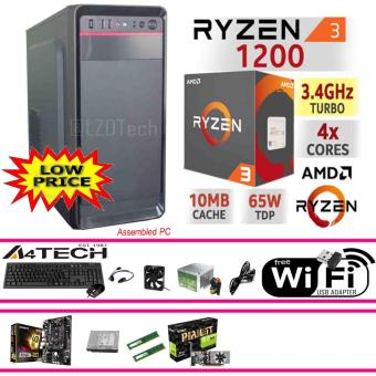 Gigabyte CPU 8GB, AMD Ryzen 3 1200 Quad Core AM4 3.4GHz 65W. WiFi Ready. Price Philippines
