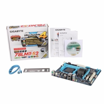 GIGABYTE GA-78LMT-S2 Socket AM3+/ AMD 760G/ DDR3/ A&GbE/MicroATX Motherboard Price Philippines