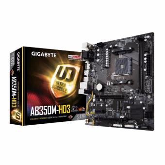 GIGABYTE GA-AB350M-HD3 AM4 AMD B350 SATA 6Gb/s USB 3.1 HDMI MicroATX AMD Motherboard Price Philippines