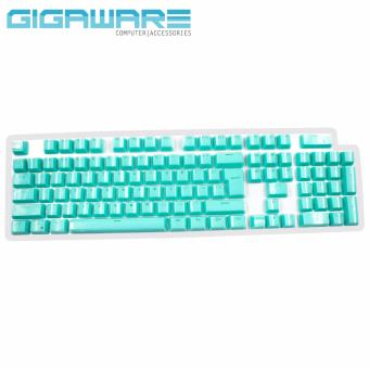 Gigaware 104 PBT Glass-Coated Keycaps (MX Stem) (Teal) Price Philippines