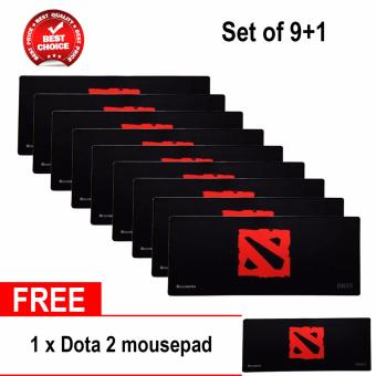 Gigaware Dota 2 Extended Mousepad for Gaming (set of 9+1)