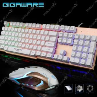 Gigaware EWEADN LK006 Metal Backlight Gaming Keyboard Mouse (Black)with FREE Natus Vincere Gaming Mousepad - 2