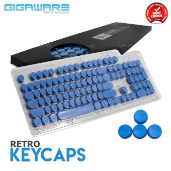 Gigaware Gaming Typewriter MX Keycaps for Mechanical Keyboard(Blue)
