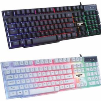 Gigaware GX50 Mad Warrior Suspended Keypress Gaming Keyboard (White)) - 2