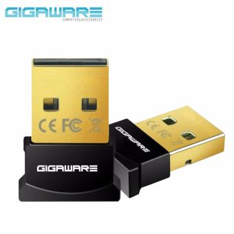 Gigaware Ultra-Mini Bluetooth 4.0 USB Dongle Adapter Black