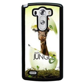 Giraffe Pattern Phone Case for LG G3 (Black)