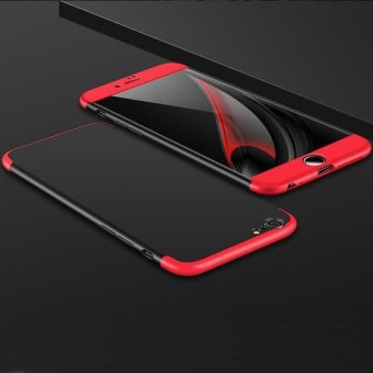 GKK 3 In 1 Combo Frosted Armor Hard PC Back Cover 360 Degree Full Body Shockproof Protective Phone Case for Apple iPhone 6 / 6s Plus 5.5 Inch - intl