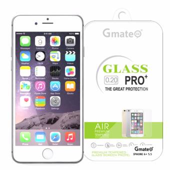 Gmate Tempered Glass Screen Protector For iPhone 6 Plus / 6s Plus(Clear)