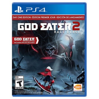 GOD EATER 2 PS4 GAME R3,R1 MINT CONDITION Price Philippines