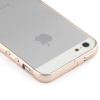 Gold Aluminum Metal Bumper Frame Case Cover For Apple iPhone 5 / 5S/ SE