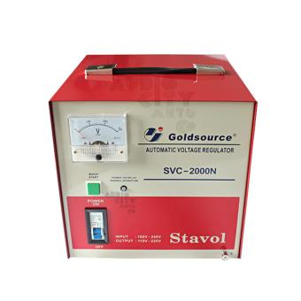 Goldsource SVC-2000N Automatic Voltage Regulator 2000W AVR (Red) - 2