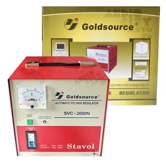 Goldsource SVC-3000N Automatic Voltage Regulator 3000W AVR (Red)