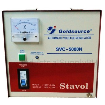 Goldsource SVC-5000N Automatic Voltage Regulator (AVR)