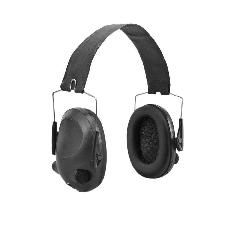 GOOD TAC 6s Anti-Noise Tactical Shooting Headset Sport Hunting Earmuff Headphone black, army
