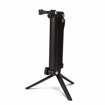 GoPro Accessories 20cm Collapsible 3 Way Monopod Mount Camera GripExtension Arm Tripod Stand for Gopro Hero 4 2 3 3+ 2 1 SJ4000 - 3