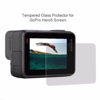 Gopro Generics Tempered Glass Screen Protector for Gopro Hero 5Action Camera