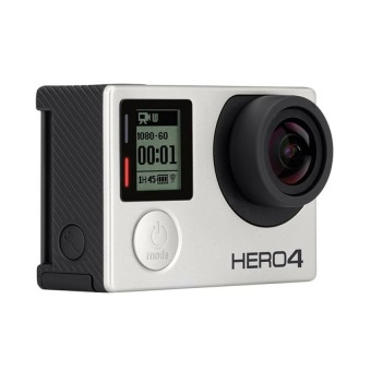 GoPro Hero 4 12MP Action Camcorder (Silver)