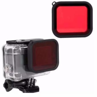 GoPro Hero 5 Diving Lens Filter Kit for Waterproof Case Version 1 (Red)