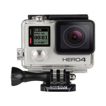 GoPro Hero4 12MP Action Camera (Silver Edition)