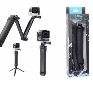 GoPro hero4/3-way accessories three to adjust three to support