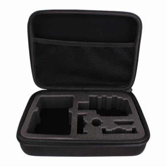 GP102 Large Travel Case/Pouch/Bag for GoPro Hero, SJCAM, Xiaomi Yi, Supremo and other Action Cameras (Black)