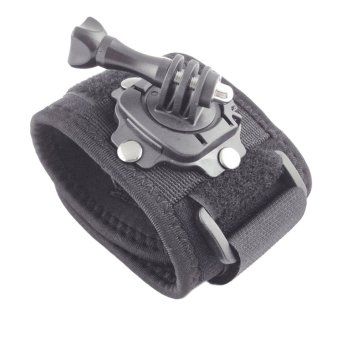GP128 Wrist Strap Mount Band with Rotation Base for GoPro HD Hero 2