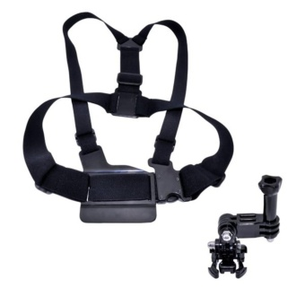 GP25 Chest Strap Mount for Action Camera (Gopro, Sjcam, Xiaomi Yi, Etc)