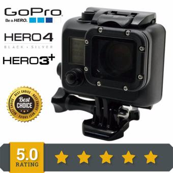 (GP28B) New Arrive Gopro Waterproof Case 45M Underwater blackout GoPro Diving Housing Case For Gopro Hero 3 Hero3 HERO 4 DiveAccessories Black GP28B Price Philippines