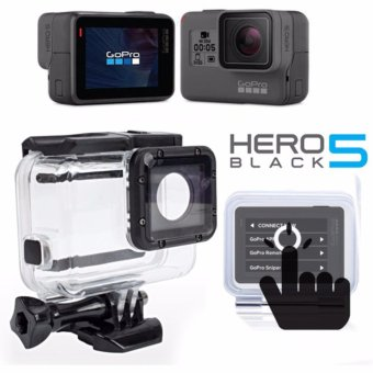 (GP501) Gopro Hero 5 Accessories Touch Screen Waterproof HousingCase Underwater Diving Protective For Go pro Hero5 Hero 5 BlackAction Camera GP501